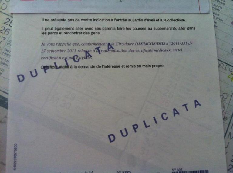 D cembre 2015 journal de bord d 39 une jeune m decin g n raliste de seine saint denis - Certificat d heredite avec porte fort ...